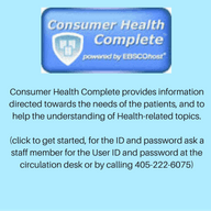 Consumer Health Complete provides information directed towards the needs of the patients, and to hel