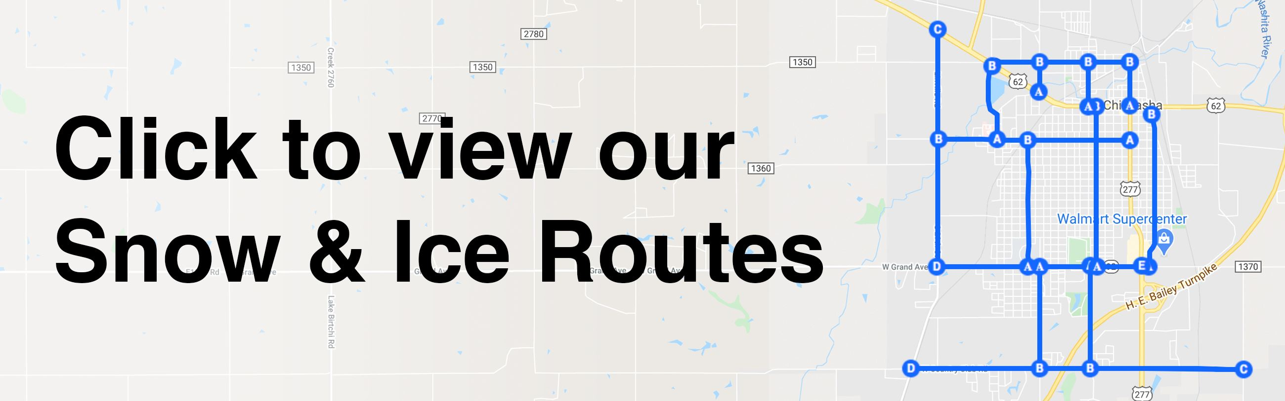 Click this image to view Snow & Ice Route information