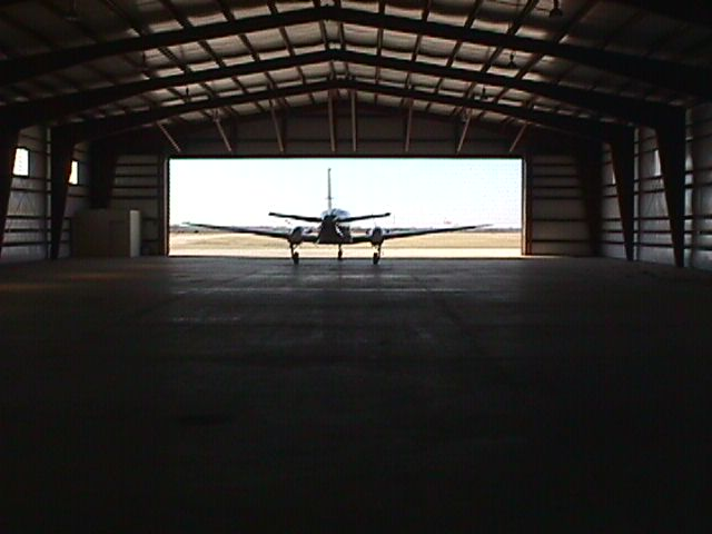 Inside New Hangar