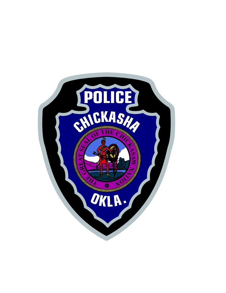 Police Chickasha Badge